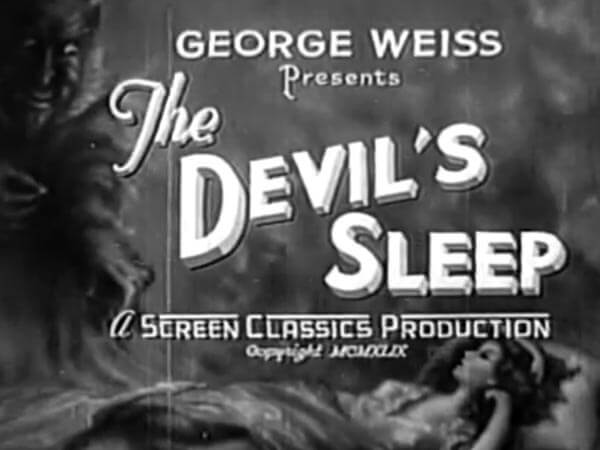 The Devil's Sleep