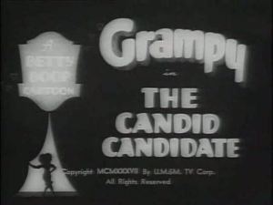 Betty Boop – The Candid Candidate