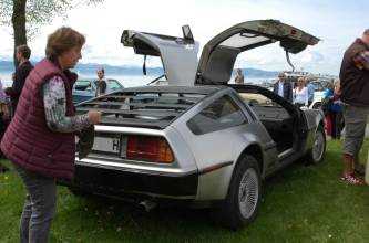 DeLorean Oldtimertreffen Langenargen 2015