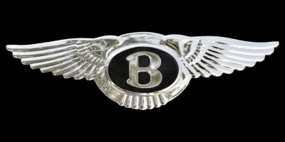 Logo Bentley Mulsanne (1980–1987)