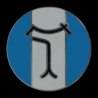 Logo De Tomaso auf einer Pantera Felge
