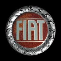 Fiat Logo auf 124 Spider