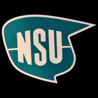 Logo NSU auf Sportmax