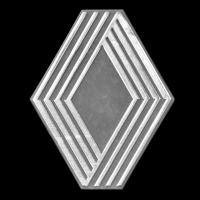 Logo Renault auf Fuego (1979-1986)