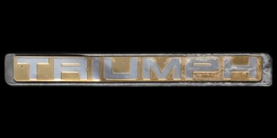 Logo Triumph 2500S