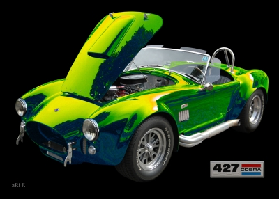 Shelby Cobra 427 Poster by aRi F.