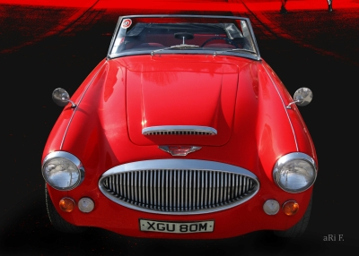 Austin-Healey 3000 MK3 Poster by aRi F. in original color
