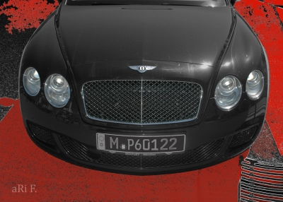 Bentley Continental GT Speed in black & red