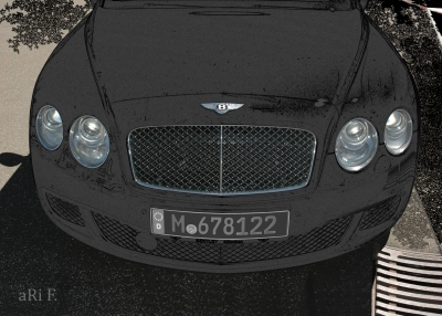 Bentley Continental GT Speed in black & black