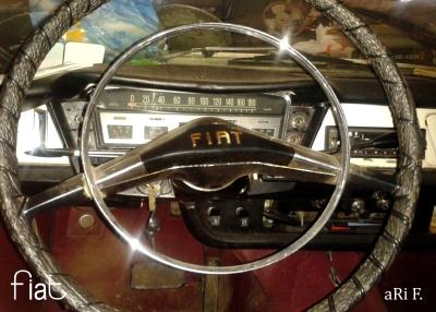 Fiat 2300 Familiare Interieur