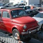 Fiat 500 Nuova L vor der Bildbearbeitung