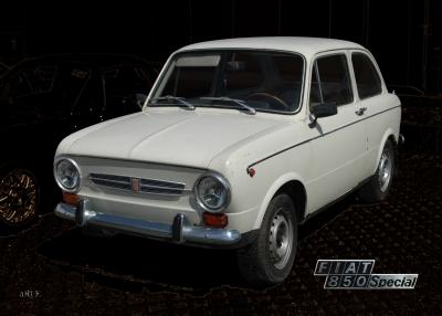 Fiat 850 Special (Originalfoto)
