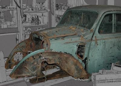 Fiat Topolino A (Frontansicht Version 1)