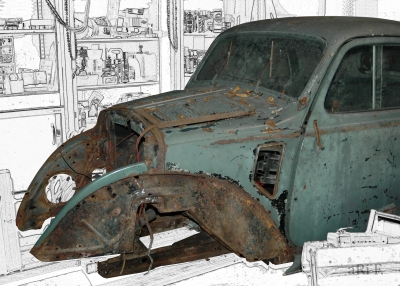Fiat Topolino A (Frontansicht Version 3)