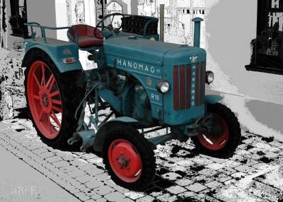 Hanomag R16 A Poster in Originalfarbe