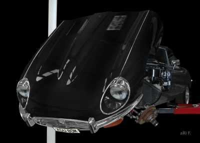 Jaguar E-Type Serie 1 in black