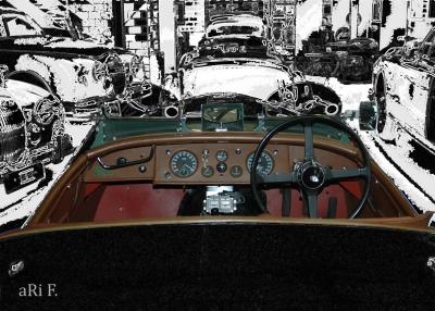 Jaguar XK 120 Roadster RH Poster