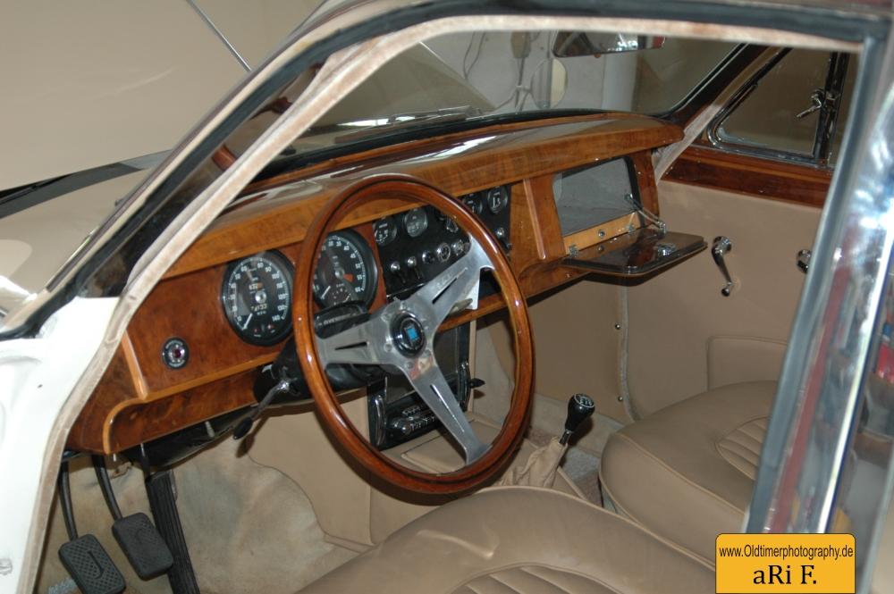 Jaguar Mark 2 Interieur vorn