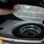 Jaguar Mark 2 Reserverrad alles blitze blank für den TÜV-Ingenieur