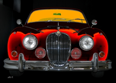 Jaguar Mark 2 3.8 Litre Poster for sale