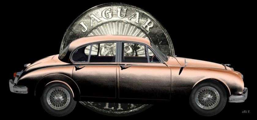 Jaguar-Mark II 2.4 Litre Poster technische Daten