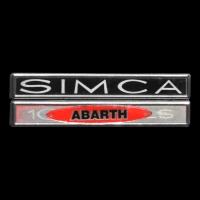 Logo Simca Abarth 1000 LS