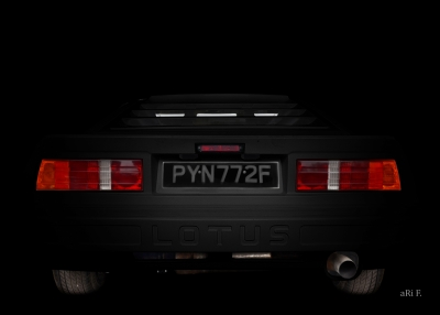 Lotus Turbo Esprit S3 Classic Car photography