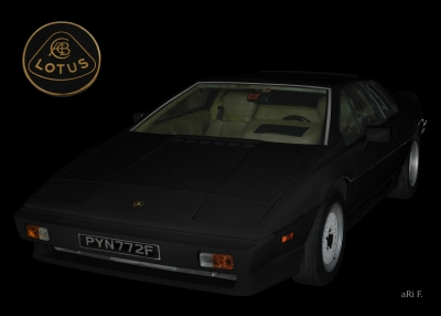Lotus Turbo Esprit S3 Classic Car photography Langenargen