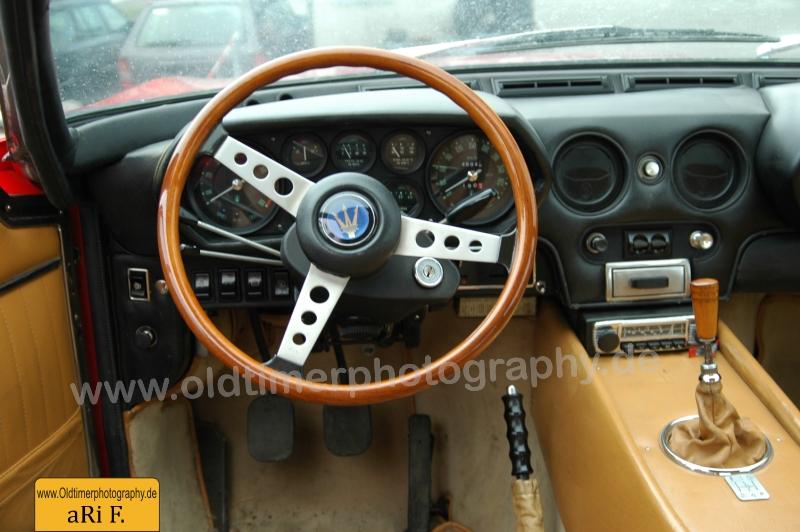 Maserati Indy Interieur (1973-1975)