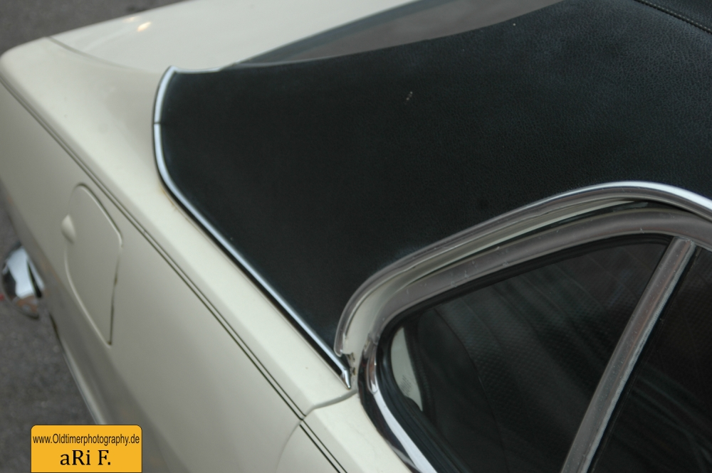 Opel Olympia A Detailansicht C-Säule hinten