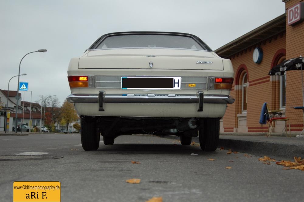 Opel Olympia A Heckansicht