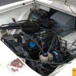 Opel Olympia Motorraum vorn