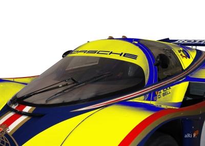 Rothmans Porsche 956 LH - Le Mans Winner