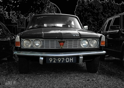 Rover P6 2000 TC black & black