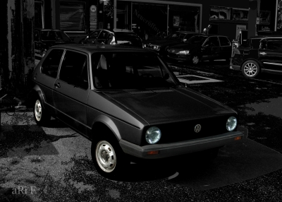 VW Golf 1 by aRi F.