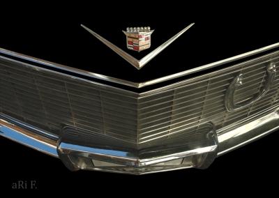 Cadillac Sedan DeVille Cabrio Kühlergrill / Radiator Poster