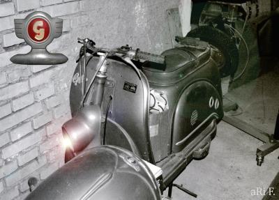 Glas Goggo-Motorroller