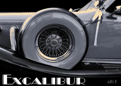 Excalibur Series IV in black & white
