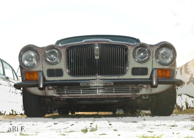 Jaguar XJ Serie 2 in white
