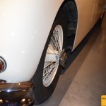 Jaguar XK 140 Frontdetail mit Speichenfelge