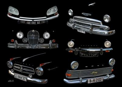 Kühlergrill / Radiator Studien 01