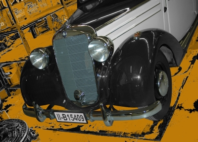 Mercedes-Benz 170 S (W136 IV) in black & yellow