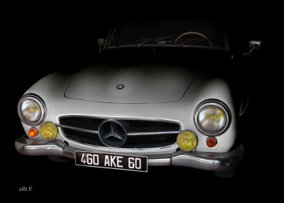 Mercedes-Benz 190 SL in minimalism pure 02