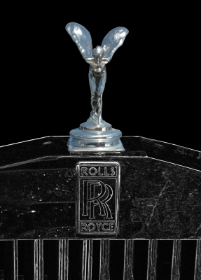"Rolls-Royce - Emily ""Spirit of Ecstasy"" in black"