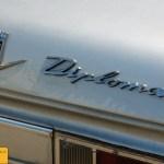 Opel Diplomat A, Detailansicht hinten