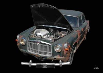 Rover P5 Mark II (Rost-Ratte, Rat Rods, Auto Ratte)