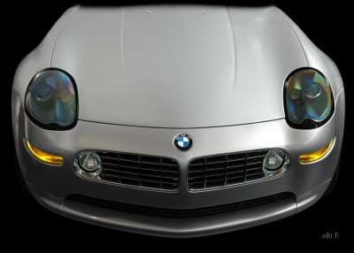 BMW Z8 in black & silver (Originalfarbe)