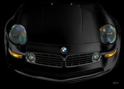 BMW Z8 in black & black