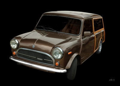 Innocenti Mini 850 Traveller Woody (Originalfarbe)