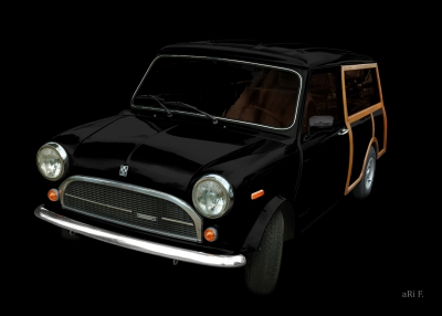 Innocenti Mini 850 Traveller Woody